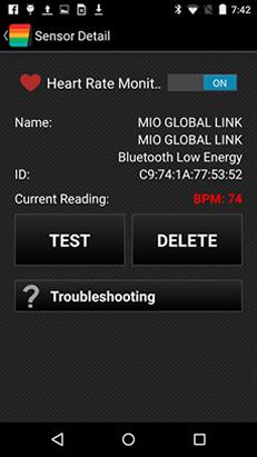 HRM Sensor Detail