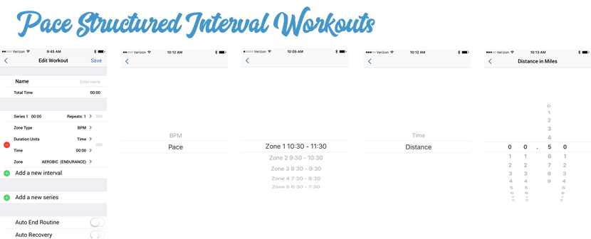 Pace Interval Workouts