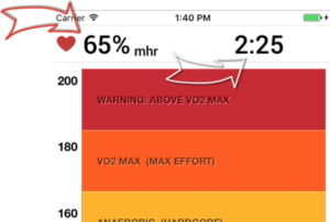 Customize metrics above the charts in Fitdigits Apps