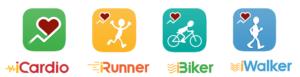 iCardio, iRunner, iBiker & iWalker