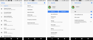 Fitdigits Android Notification Options