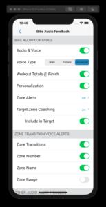 Target Zone Audio Coaching